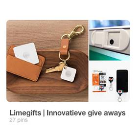 Pinterest Innovatieve giveaways