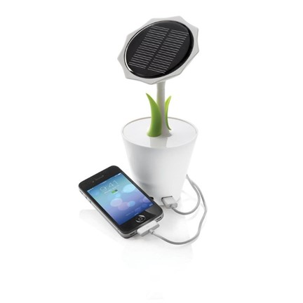 Solar sunflower 2.500 mAh, wit