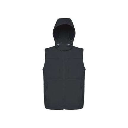 Hooded Softshell Gilet Men B&C