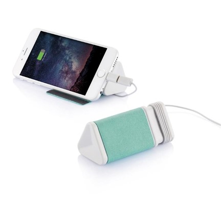 MFi Dobble kabel & 3.000 mAh powerbank, groen