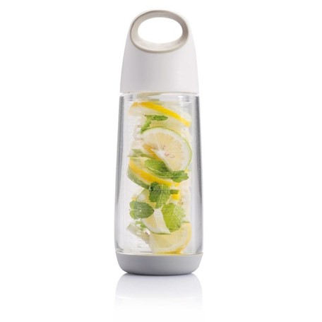 Bopp waterfles met infuser, wit