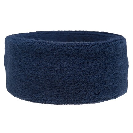 Frotté zweetband navy acc. Navy
