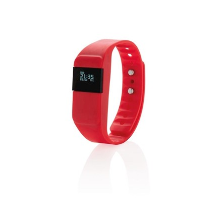 Activity tracker Keep fit, rood