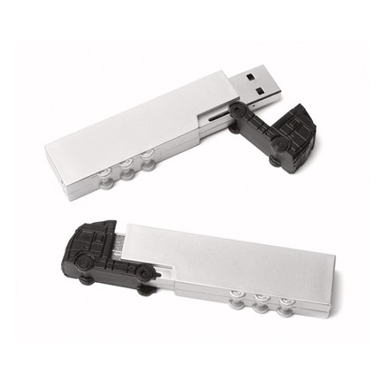 Lorry USB FlashDrive Zwart