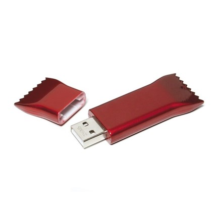 Wrapper FlashDrive Blauw