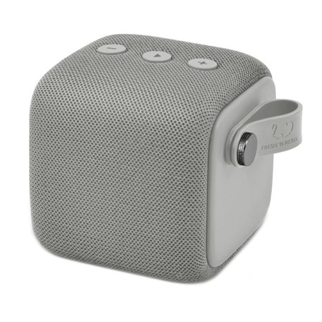 Fresh 'n Rebel Rockbox Bold S Waterproof Bluetooth Speaker - concrete