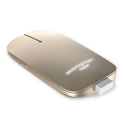 Xoopar Pokket 2 Wireless Mouse Deluxe - gold