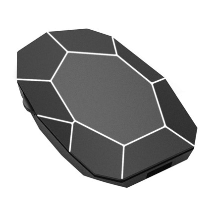 Xoopar Geo Mouse Plus - black