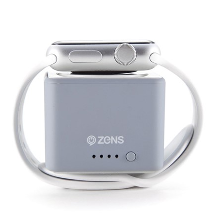 ZENS PowerBank for AppleWatch - grey