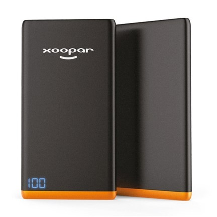 Xoopar Ring Slim Powerbank - black