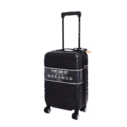 Cabin Size Napoli Trolley RPET Black